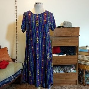 Lularoe Carly High-Low dress